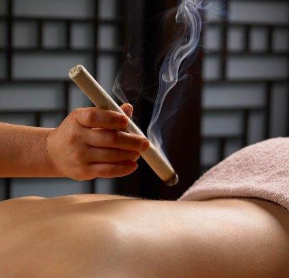 Westchester Acupuncture pole moxibustion - Moxibustion Techniques